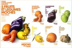 Great ad campaign encourages customers to buy oddly shaped fruit