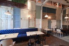 restaurantes con decoracion vintage - Buscar con Google