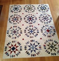 "The original pattern is ""Dizzy Geese"" by Joan K. Streck in the book Quick Quilts from Your Scrap Bag."