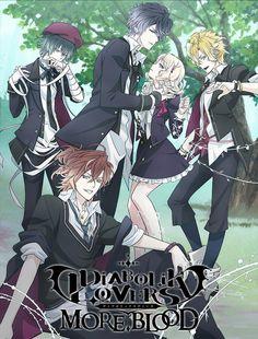 Diabolik Lovers More,Blood /// Genres: Harem, School, Shoujo, Vampire