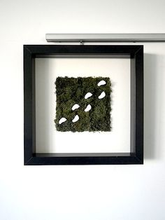 Pieds nus dans l'herbe Moss Wall, Plant Wall, Decoration, Frame, Plants, Pictures, Design, Home Decor, Paper Flower Wall