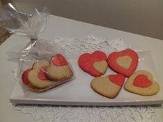 Galletas de mantequilla para San Valentin..