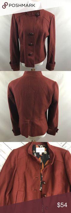 Banana Republic wool jacket size medium Banana Republic wool jacket. Size medium. Lined. Length 21, bust 18.5. Dry clean. Thanks for looking. Happy Poshing. Banana Republic Jackets & Coats