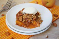 Ashley Marie's Kitchen: Peach Crisp