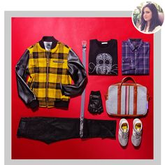 Staff Picks: Fall Transitional Outerwear | Featuring Outclass Plaid Bomber Jacket $545 | GOTSTYLE.CA