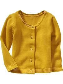Classic Cardigans for Baby