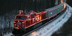 Imagine building your own Christmas train for your display!
