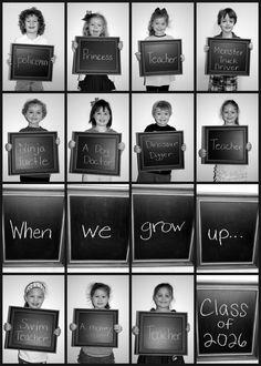 Preschool Class Picture -- @April Cochran-Smith Cochran-Smith Showalter, check this out!! ; )