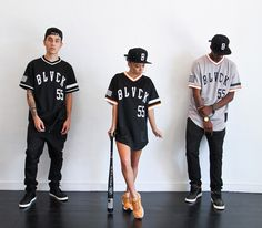 "Lookbook Black Scale ""Baseball Jersey"" (Summer 2014)"