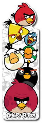 Angry Birds Shapemarks Bookmark Bookmark