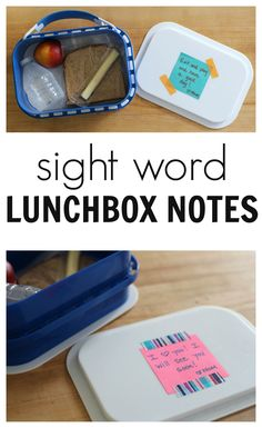 Make lunchbox notes extra rad by slipping sight words into them. #makeitstick #ad