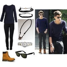 """Inspired In Zayn Malik I"" by yuliziithax on Polyvore"