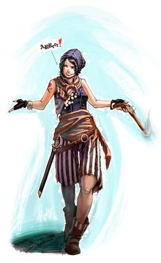 I've yet t' find thats it's possible for me t' say this enough, lady pirates are just as cunning an' dangerous as any salt!