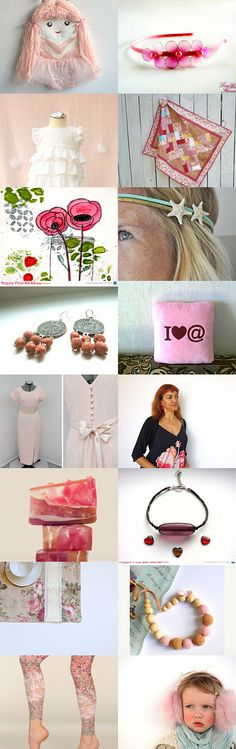 pretty in pink by Cynthia on Etsy--Pinned with TreasuryPin.com