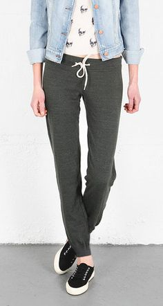 Women's Tailored Slim Sweat pants Lounge pants by YoursLimited, $35.00