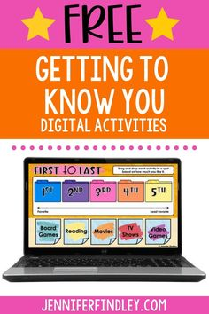 Digital Getting to Know You Activities