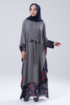 Zurayya Abaya | ZUBEDI by Vivi Zubedi Abaya | HIJUP Abaya Fashion, Modest Fashion, Fashion Dresses, Cheap Maxi Dresses, Stylish Dresses, Muslim Women Fashion, Womens Fashion, Model Kebaya, Modele Hijab