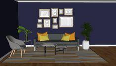 Fargevalg for et mer livlig interiør - Innredningsguiden Interior, Indoor, Interiors