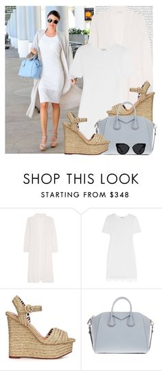 """Senza titolo #1855"" by aanyaa ❤ liked on Polyvore featuring Kerr®, Eres, Clu, Charlotte Olympia, Givenchy and Quay"