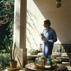 1980 - YSL in Morocco by Horst