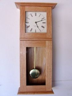 Woodworking Plans For Kids .Woodworking Plans For Kids Clock, Woodworking Projects Furniture, Wood Clocks, Shaker Furniture, Wall Clock Plans, Woodworking Shop Plans, Woodworking Clock Projects, Woodworking Projects, Woodworking Furniture Plans