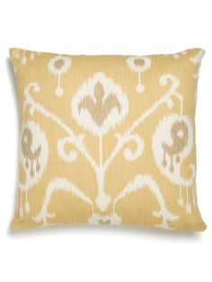Ikat Pillow by Frog Hill Designs at Gilt