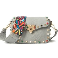 MENGXILU Color Rivet Women Crossbody Bags High Quality Women Messenger Bags Luxury Handbags Women Bags Designer Bolsos Mujer