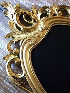 Ornate Vintage Baroque Framed ChalkboardVintage by shabbymcfabby, $149.00