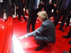 Salone di Ginevra 2013. Luca Cordero di Montezemolo presenta LaFerrari. http://giornalemotori.it/69653/laferrari-regina-di-svizzera/#
