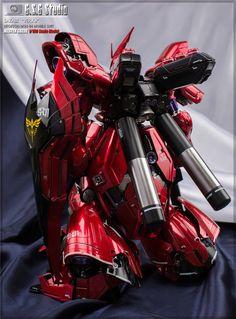 GUNDAM GUY: MG 1/100 Sazabi Ver. Ka - Painted Build