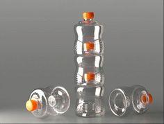 Packaging Europe News - BTC Concept Launches Stackable & Lockable PET Bottle Concept