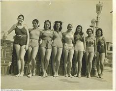 Bathing beauties With Tthe Cotton Club Revue (From Cotton Club Ballroom Dancer's Collection)