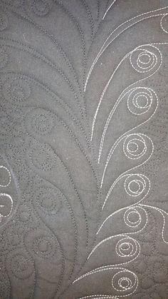 Haladó minták, azaz tollak ezerféle változata - Fairy Quilt