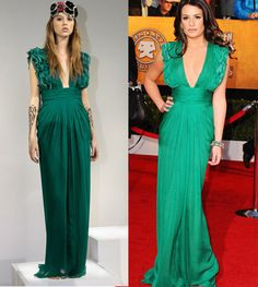 I want a green dressss