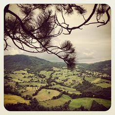Valmarecchia vista da Pennabilli - Instagram by @Sara Baraccani