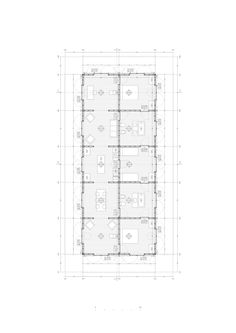 a f a s i a: Pezo von Ellrichshausen Module Architecture, Architecture Drawings, Pezo Von Ellrichshausen, Axonometric Drawing, Pool Houses, Planer, House Plans, Floor Plans, Diagram