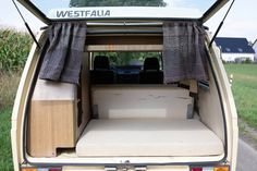 Elma, der Innenausbau: Vorher - Nachher — luna lene Vw T3 Westfalia, Bunk Beds, Camper, Furniture, Home Decor, Viajes, Old Furniture, Caravan, Decoration Home