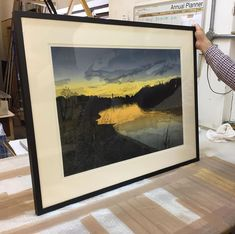 """For Arts Sake on Instagram: """"The final framing before the big reveal... our blockbuster group show #APrintmakersLondon is nearly here! Opening tomorrow, it boasts a…"""""""