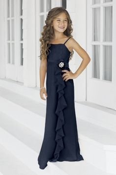 junior bridesmaid dresses in navy | Junior Bridesmaid Dresses, Flower Girl, Special Occasion Dresses by ...