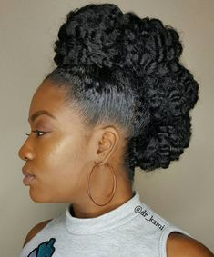 60 Easy and Showy Protective Hairstyles for Natural Hair 60 Easy and Showy Protective Hairstyles for Natural Hair,Hair Chic Natural Mohawk Updo Related kylie jenner nails inspired to try this season - -. Protective Hairstyles For Natural Hair, Natural Hair Updo, Natural Curls, Natural Hair Styles, Natural Mohawk Hairstyles, Dreadlock Hairstyles, Hairstyle Ideas, Braided Hairstyles, Hair Ideas