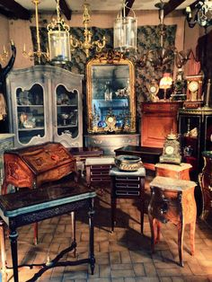 Paris Flea Markets - French Furniture