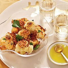 Israeli Cauliflower with Panko | MyRecipes.com