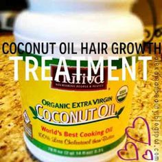 Just coconut oil straight in your hairs! Been doin it and it's really good for your hairs!