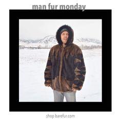 Man Fur Monday!  Back to Front!  Man Fur Monday !! SHOP this Man Fur @barefur.com . . . . . . . . . . #BareFur #vintage #vintagefur #winter #mensfashion #fashion #manfurmonday #hoodie #vintagemenswear #vintageclothing #vintagemensfur #fur #furcoat #mensfur #vintagefurcoat #style #luxury #giftsforhim #gift #mountains #ski #colorado #hoodedfur #menshoodedfur