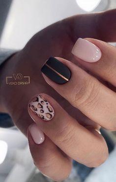 Cute Gel Nails, Chic Nails, Shellac Nails, Cute Acrylic Nails, Glue On Nails, Stylish Nails, Trendy Nails, Shellac On Short Nails, Fabulous Nails