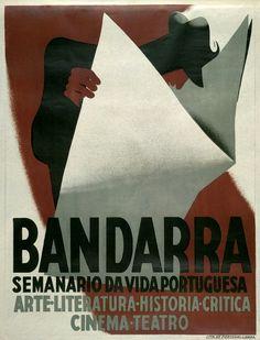 Bandarra : semanário da vida portuguesa : arte, literatura, história, crítica, cinema, teatro / [design] José Rocha. - [S.l. : s.n.], 1935