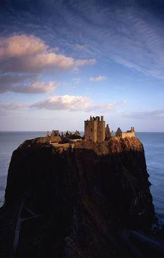 Dunnottar Castle, Scotland by Michael Prince
