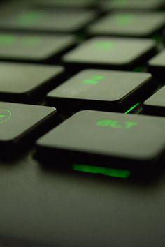 computer, gaming, green