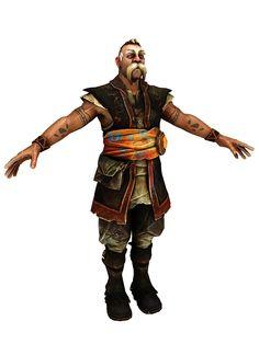 Dweller render from Fable: TJ. Most Favorite, Samurai, Rpg, Samurai Warrior