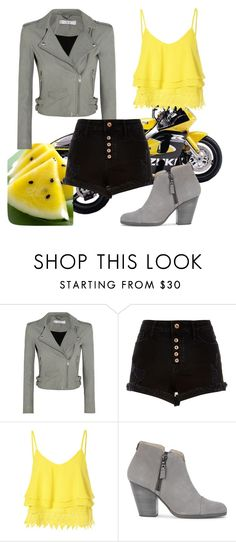 """Untitled #655"" by jediina-ja ❤ liked on Polyvore featuring IRO, River Island, Glamorous and rag & bone"
